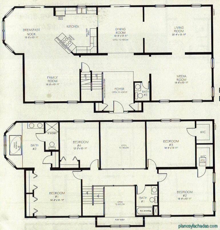 15 planos de casas peque 241 as de dos pisos planos y