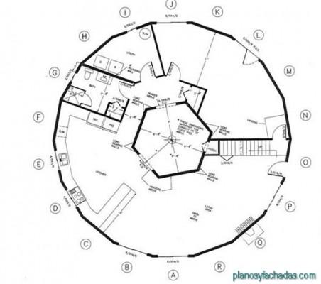 planos de casas circulares (10)