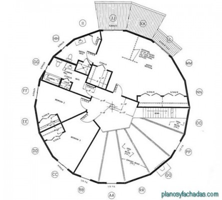 planos de casas circulares (11)