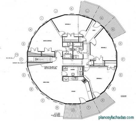 planos de casas circulares (14)