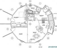 19 Planos de casas circulares