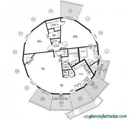 planos de casas circulares (3)