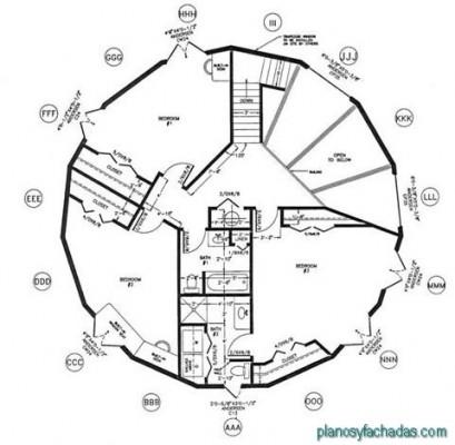 planos de casas circulares (4)