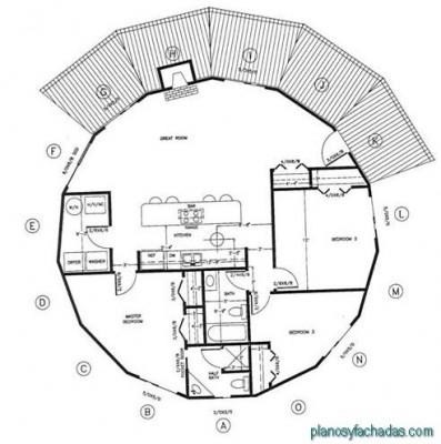 planos de casas circulares (6)