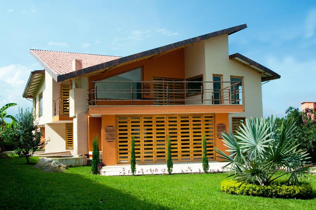 13 fachadas de casas campestres planos y fachadas todo for Casas campestres modernas planos