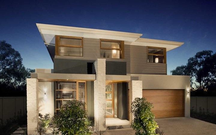 16 fachadas de casas con piedras planos y fachadas todo