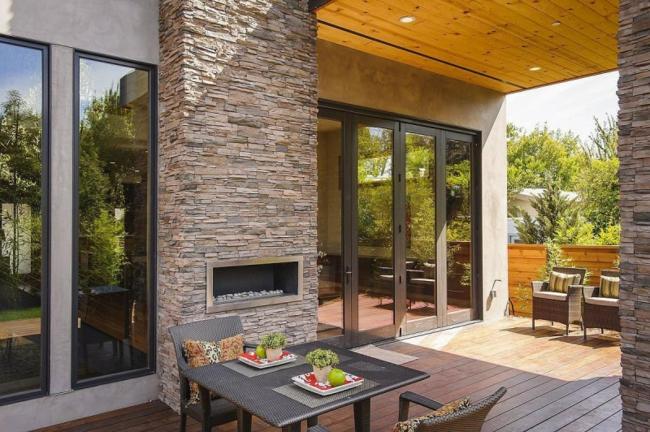16 Fachadas de casas con piedras - Planos y Fachadas - Todo para el ...