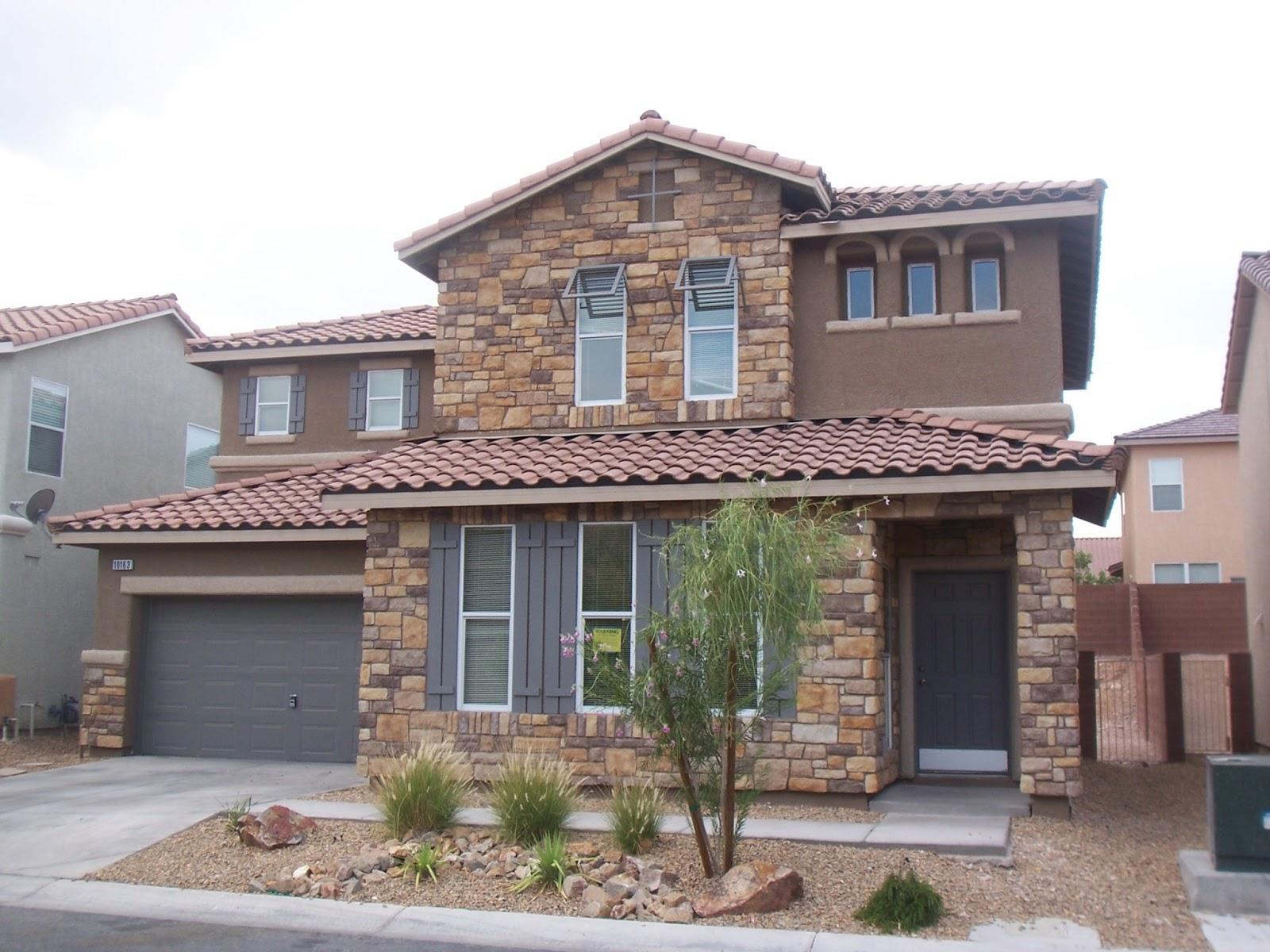 16 fachadas de casas con piedras planos y fachadas - Materiales para fachadas exteriores ...