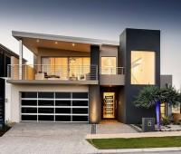 10 Fachadas de casas de dos pisos