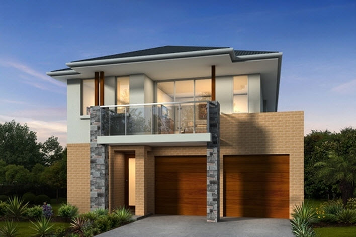 10 fachadas de casas de dos pisos planos y fachadas todo for Casas estilo minimalista de dos plantas