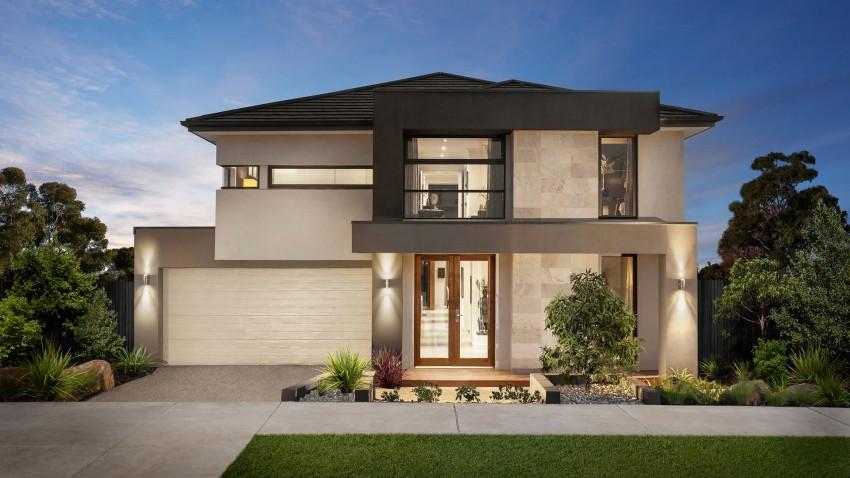 10 fachadas de casas de dos pisos planos y fachadas todo for Modelos de fachadas de casas de 2 pisos