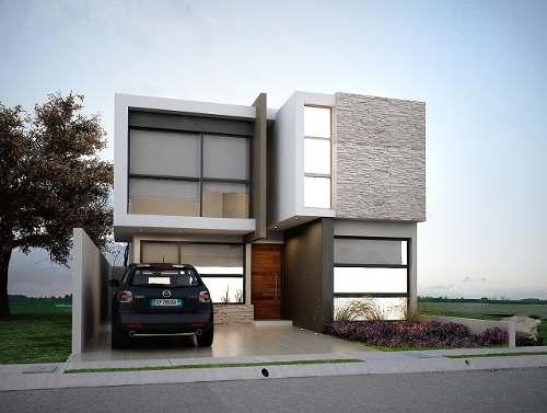 12 fachadas de casas minimalistas planos y fachadas for Vivienda minimalista planos