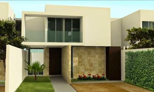 12 fachadas de casas minimalistas planos y fachadas for Casa minimalista 2018