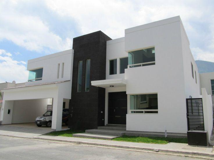 12 fachadas de casas minimalistas planos y fachadas for Colores para casas minimalistas