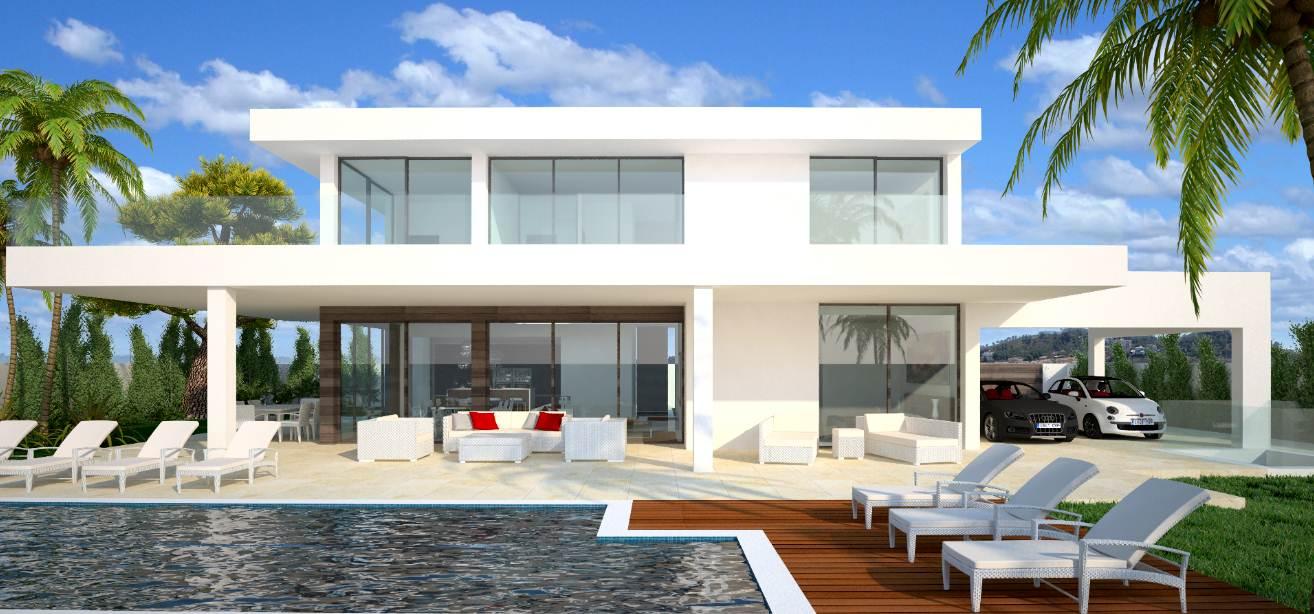 12 im genes de casas modernas planos y fachadas todo - Disenos para casas modernas ...