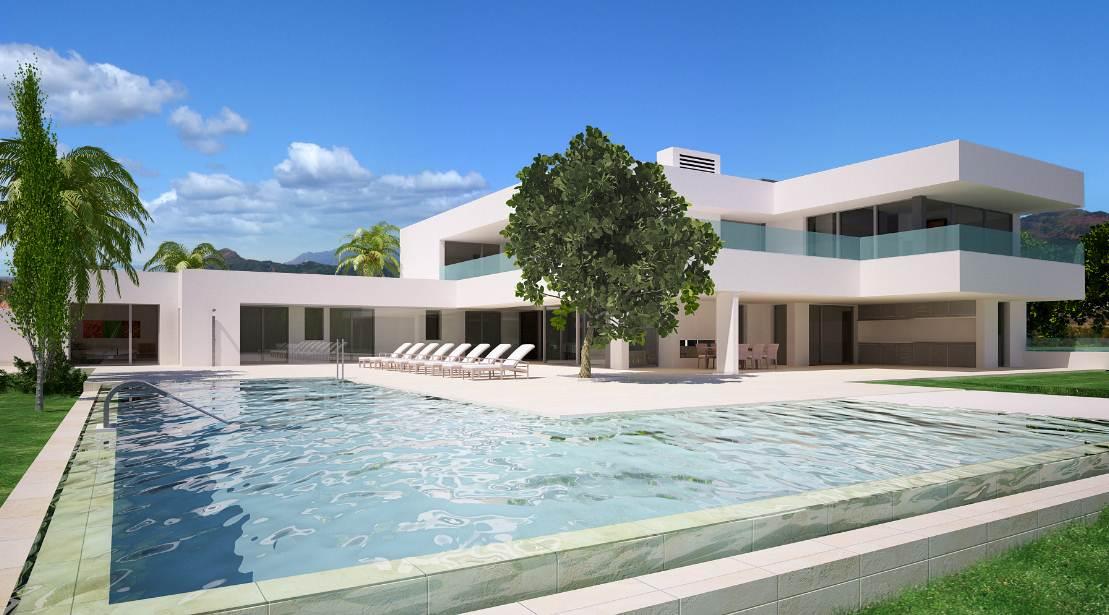 12 im genes de casas modernas planos y fachadas todo for Casa moderna baratas