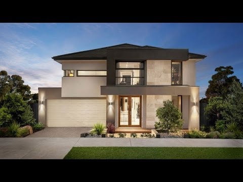 10 modelos de casas modernas planos y fachadas todo for Modelos de techos para casas de dos pisos