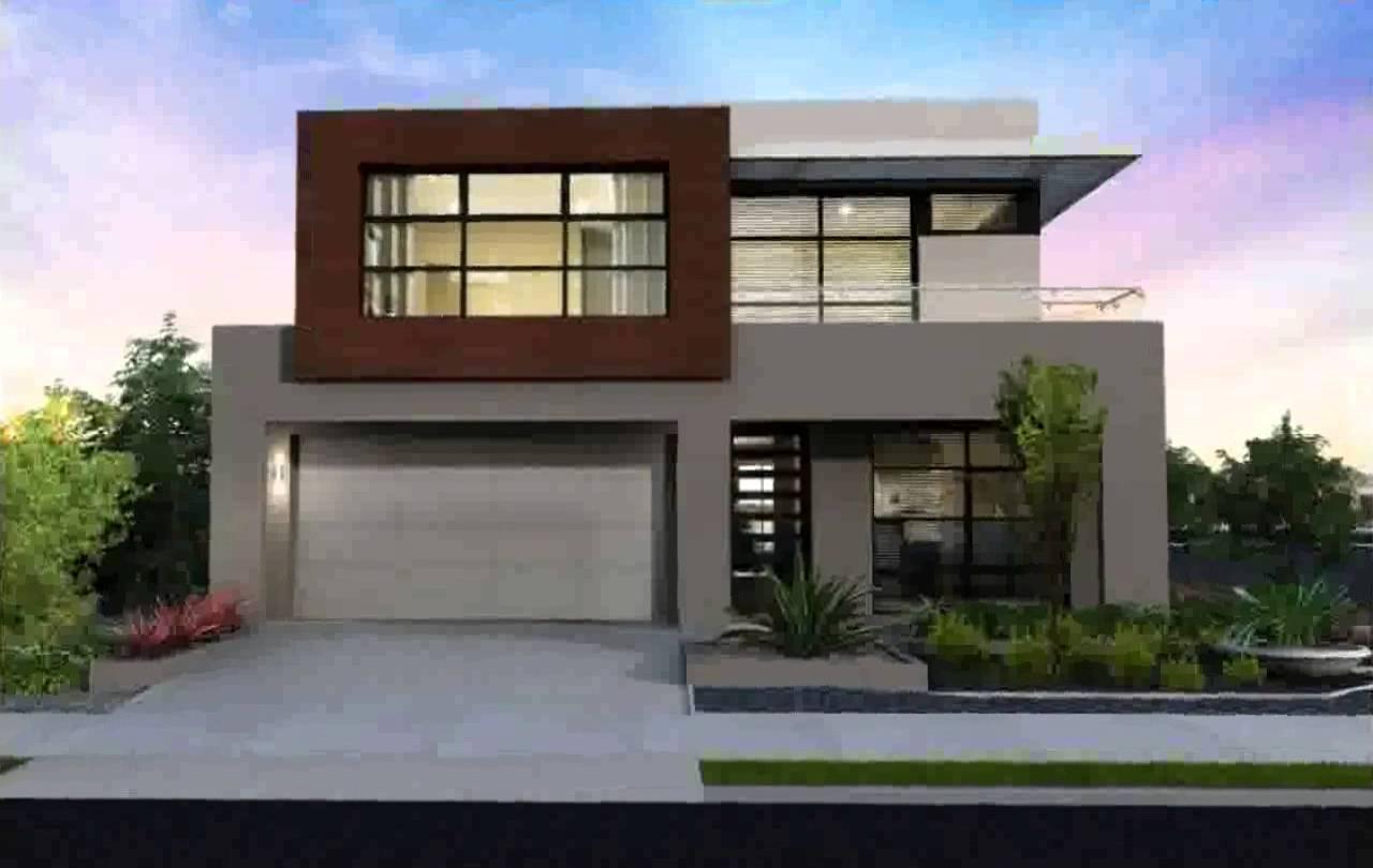 10 modelos de casas modernas planos y fachadas todo Planos interiores de casas modernas
