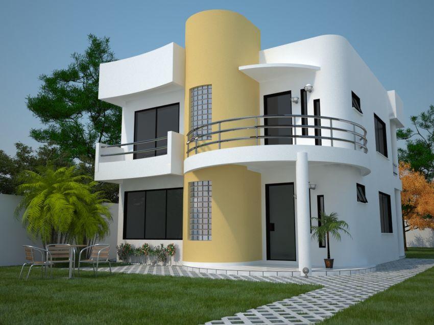 10 Modelos de casas modernas - Planos y Fachadas - Todo para el ...