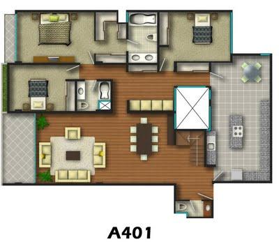 planos de casas 3 dormitorios7