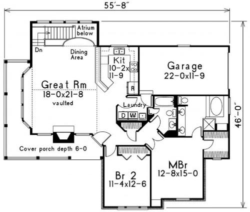 planos de casas coloniales12