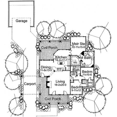 planos de casas coloniales13