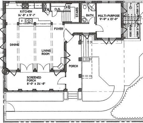 planos de casas coloniales14