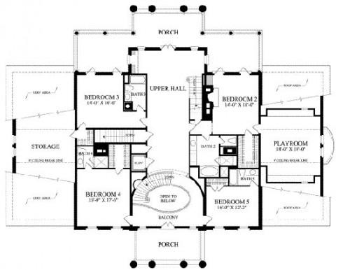 planos de casas coloniales16