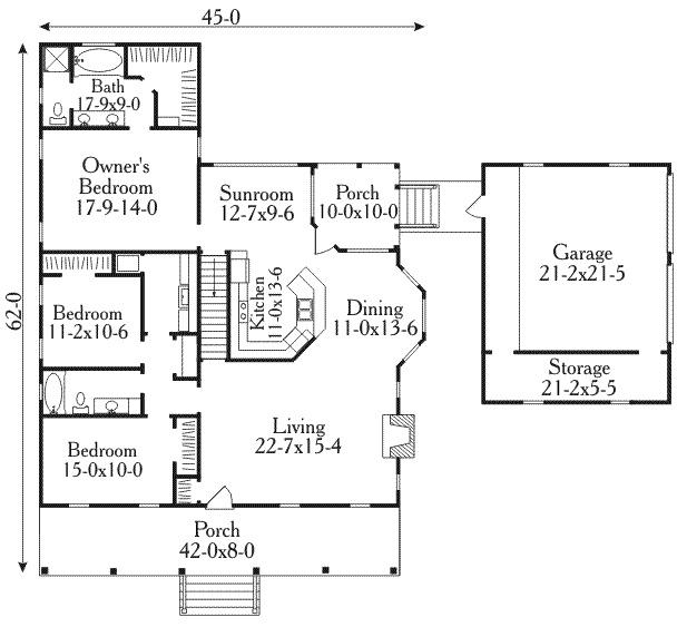 planos de casas coloniales5