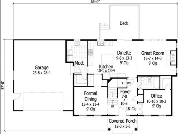 planos de casas coloniales8