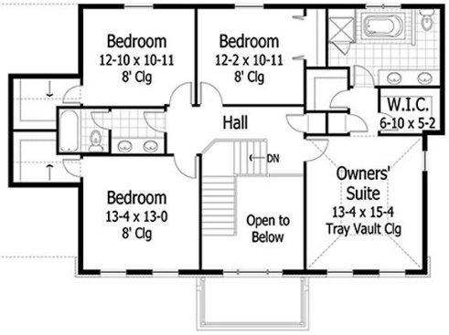 planos de casas coloniales9