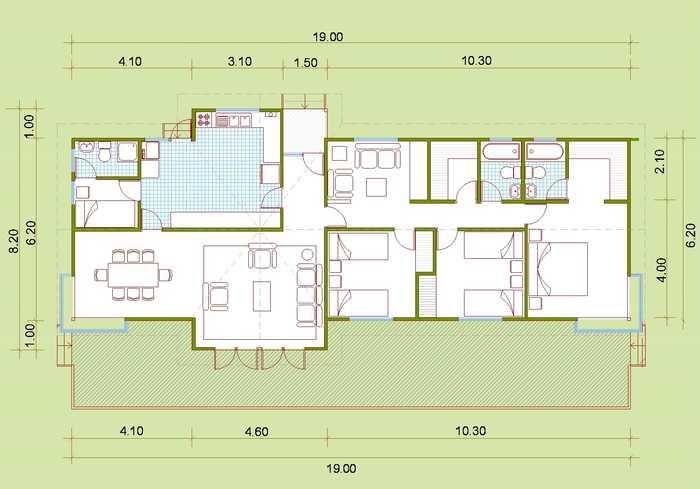 18 planos de casas de madera planos y fachadas todo for Habitaciones prefabricadas para terrazas