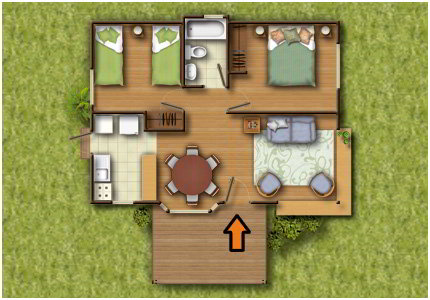 18 planos de casas de madera planos y fachadas todo - Casitas pequenas de madera ...