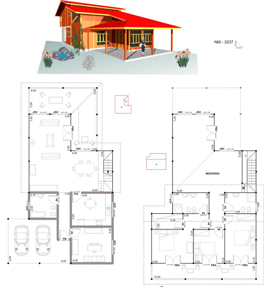 18 planos de casas de madera planos y fachadas todo for Planos para tu casa