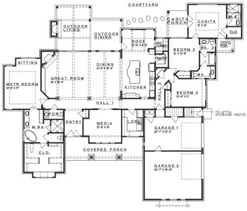 planos de casas modernas gratis10