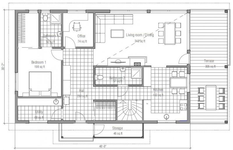 planos de casas modernas gratis13
