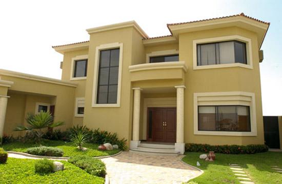 24 fotos de fachadas de casas modernas planos y fachadas for Escaleras exteriores para casas de dos pisos