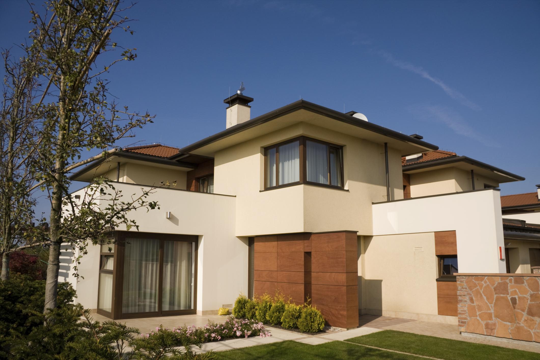 24 fotos de fachadas de casas modernas planos y fachadas for Casas para exteriores