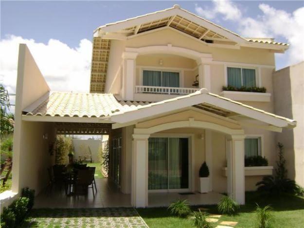 21 frentes de casas bonitas planos y fachadas todo para for Disenos minimalistas frentes casas