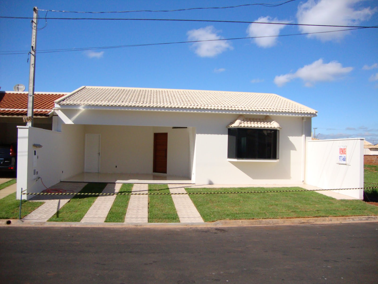 21 frentes de casas bonitas planos y fachadas todo for Ver frentes de casas modernas