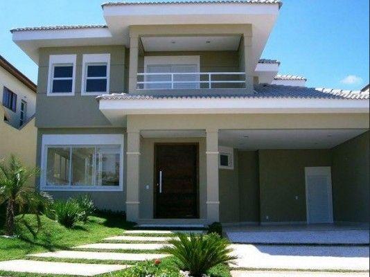 21 frentes de casas bonitas planos y fachadas todo for Casas lindas y sencillas