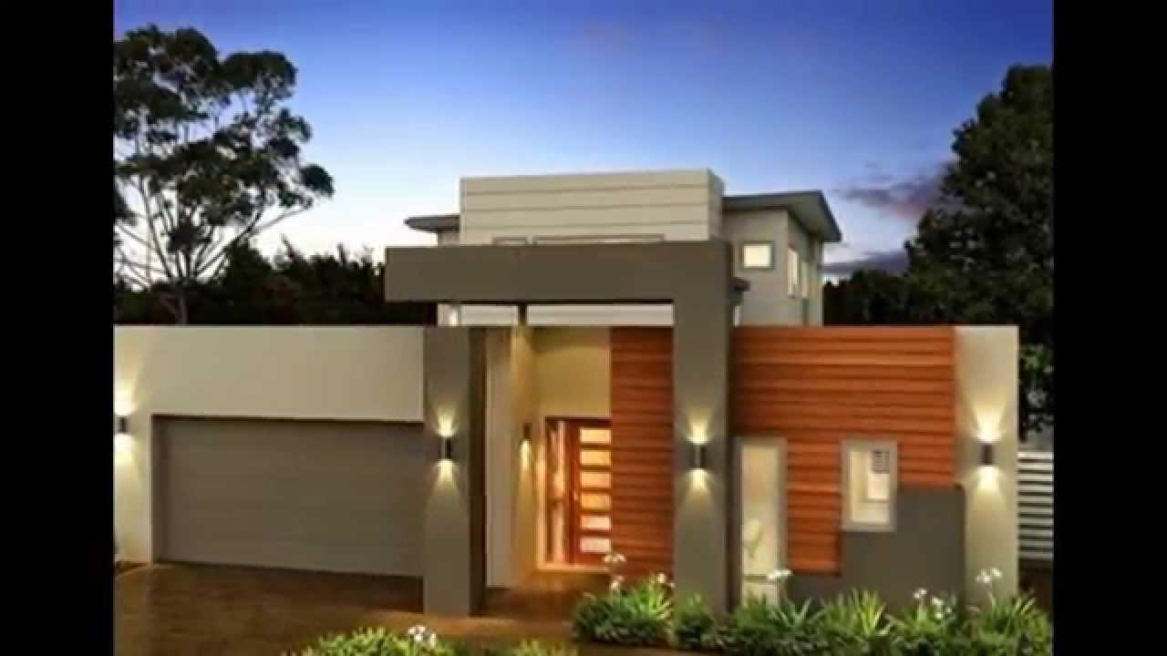 20 frentes de casas modernas planos y fachadas todo - Todo para decorar tu casa ...