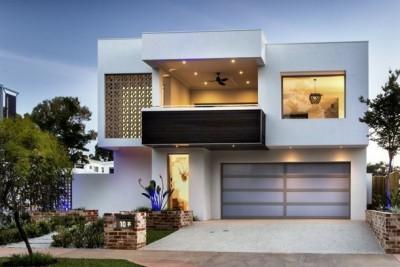 Frentes de casas modernas (11)