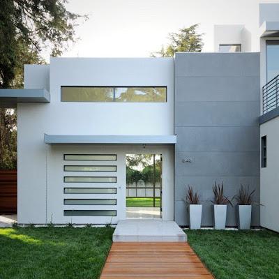 Frentes de casas modernas (14)