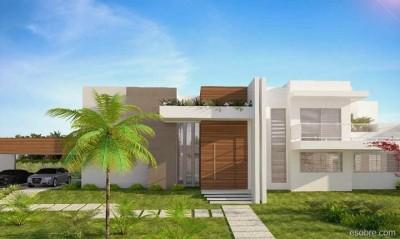 Frentes de casas modernas (18)