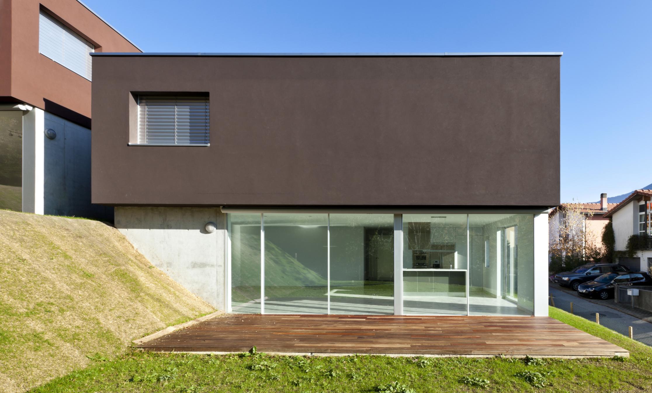 20 frentes de casas modernas planos y fachadas todo for Decoracion de fachadas de casas