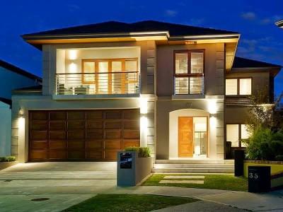 Imágenes de fachadas de casas bonitas (3)