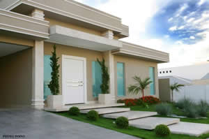 Imágenes de fachadas de casas bonitas (6)