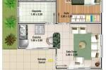 20 Planos de casas chicas
