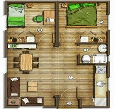 Planos de casas chicas (16)